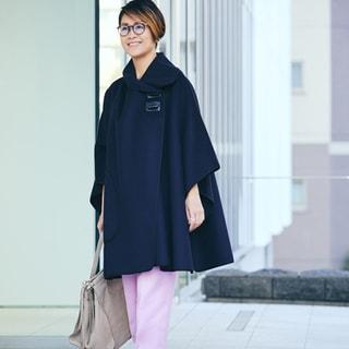 【40代コーデ】冬コーデのマンネリ回避!「キレイ色」を取り入れる着こなしサンプル集