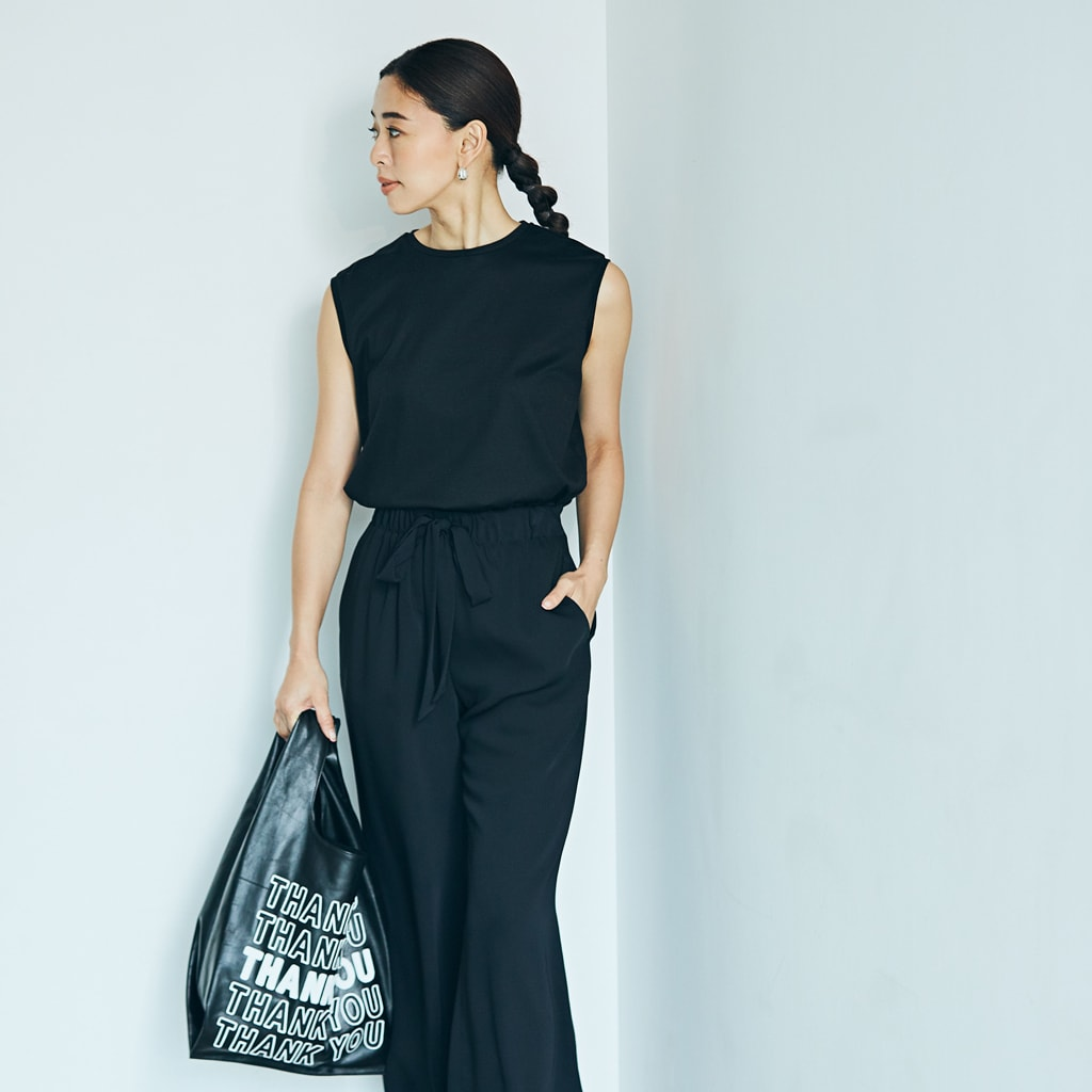 【楽チン夏コーデ】夏の黒を涼しく、女っぽく着る方法