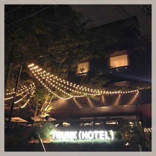 TRUNK HOTEL 1周年
