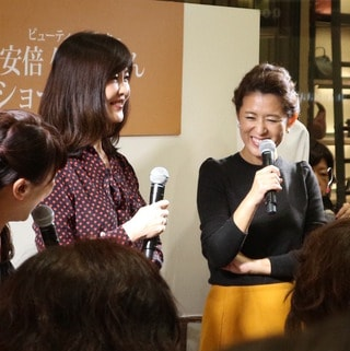 【安倍佐和子さん×大草直子トークショー】9/18大丸心斎橋店イベント・レポート!