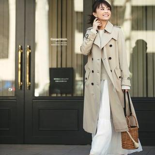 小林麻耶さんも驚いた!トレンチコートで作る、新鮮MIXコーデとは?