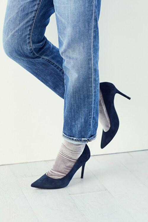 デニムに合う靴下とは?「ツヤ or 厚手のもの」で今年っぽくスライダー1_1