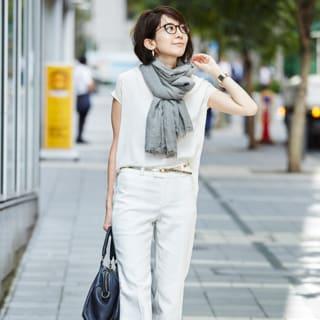【40代コーデ】お洒落に「メガネ」をかけるなら?美人度アップの取り入れ方25