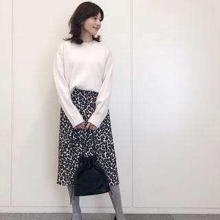 フェミニン代表・山根亜希子さんがセレクト! 女らしく? クールに? それぞれが思う「冬の白」