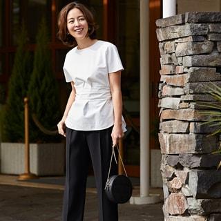 【式典服最新事情】手持ちのパンツ、シャツを華やかにする方法