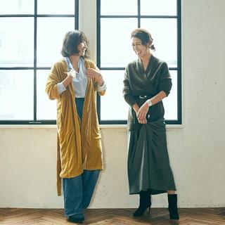 風間ゆみえ×大草直子 対談「私たちがファッションで伝えたいこと」