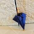 今日初おろしの傘は、ドットのネイビー系でした