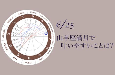 2021.6.25山羊座満月のアドバイス