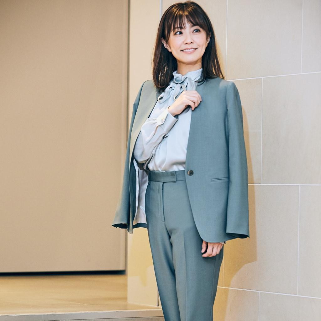 【小林麻耶さんの似合う服探し】観劇や会食に着られるきちんと服が知りたい!