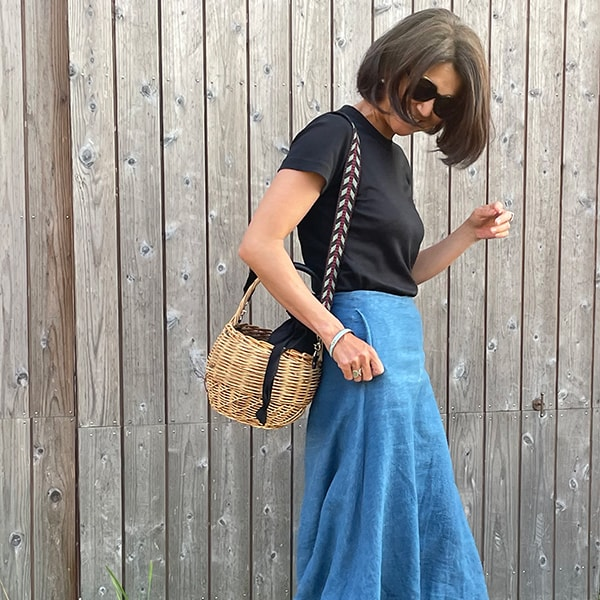 今年のかごバッグは「愛嬌のある」ストラップ付き丸型に決定!
