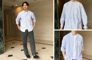今季買うストライプシャツならインディビジュアライズド シャツの別注を by柳田啓輔