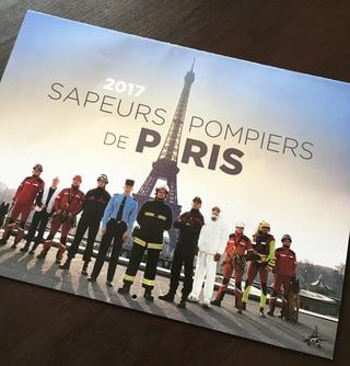 パリの消防士カレンダー