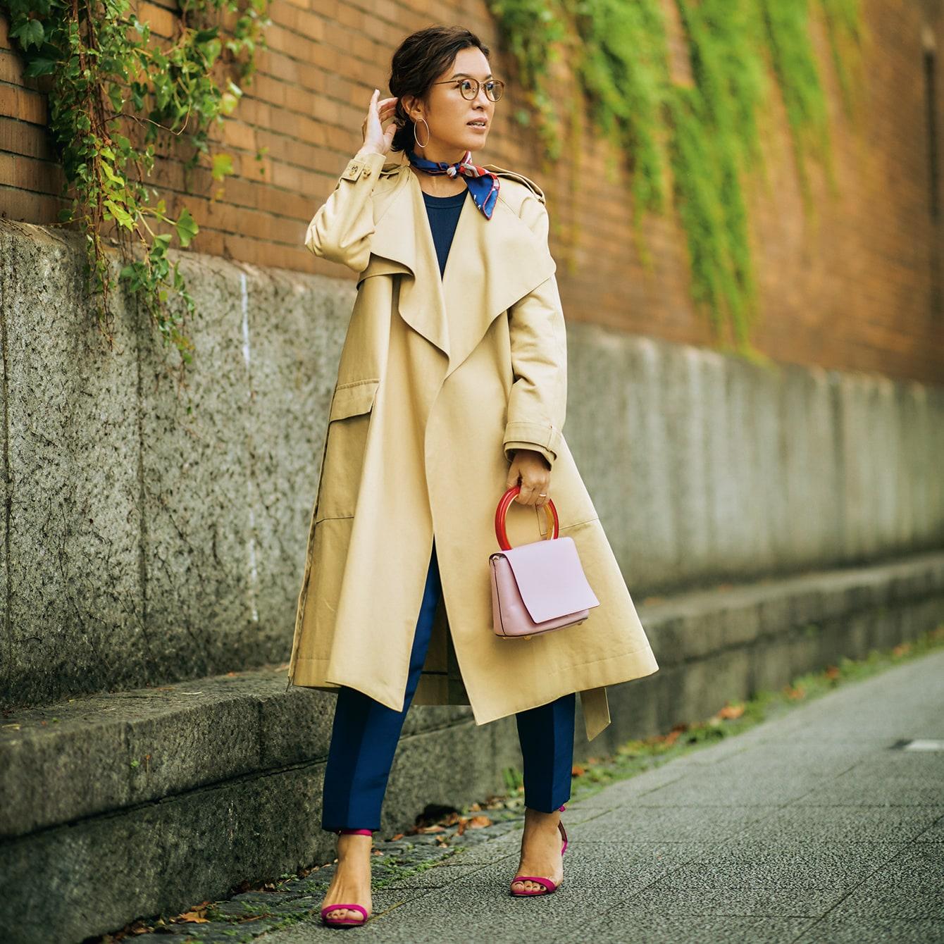 【スタイリスト大草直子】トレンチコートを新鮮に着こなす4つのテクニック