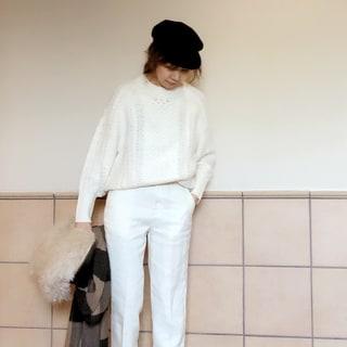 【動画あり】ファッションライター榎本洋子がセレクト!冬のオールホワイトに挑戦してみました