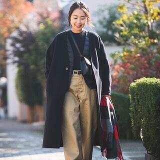 ユニクロの新型インナーダウンはコートの襟の形に合わせられる!