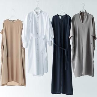 「ベイジ,」と「サポートサーフェス」がコラボ!リラックスして着られるドレスたちに感動!