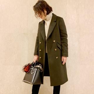 「H&M」のプチプラ&高見えコートが使える!