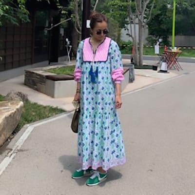 この夏新調した「柄ワンピース」は着ているだけでリゾート気分!