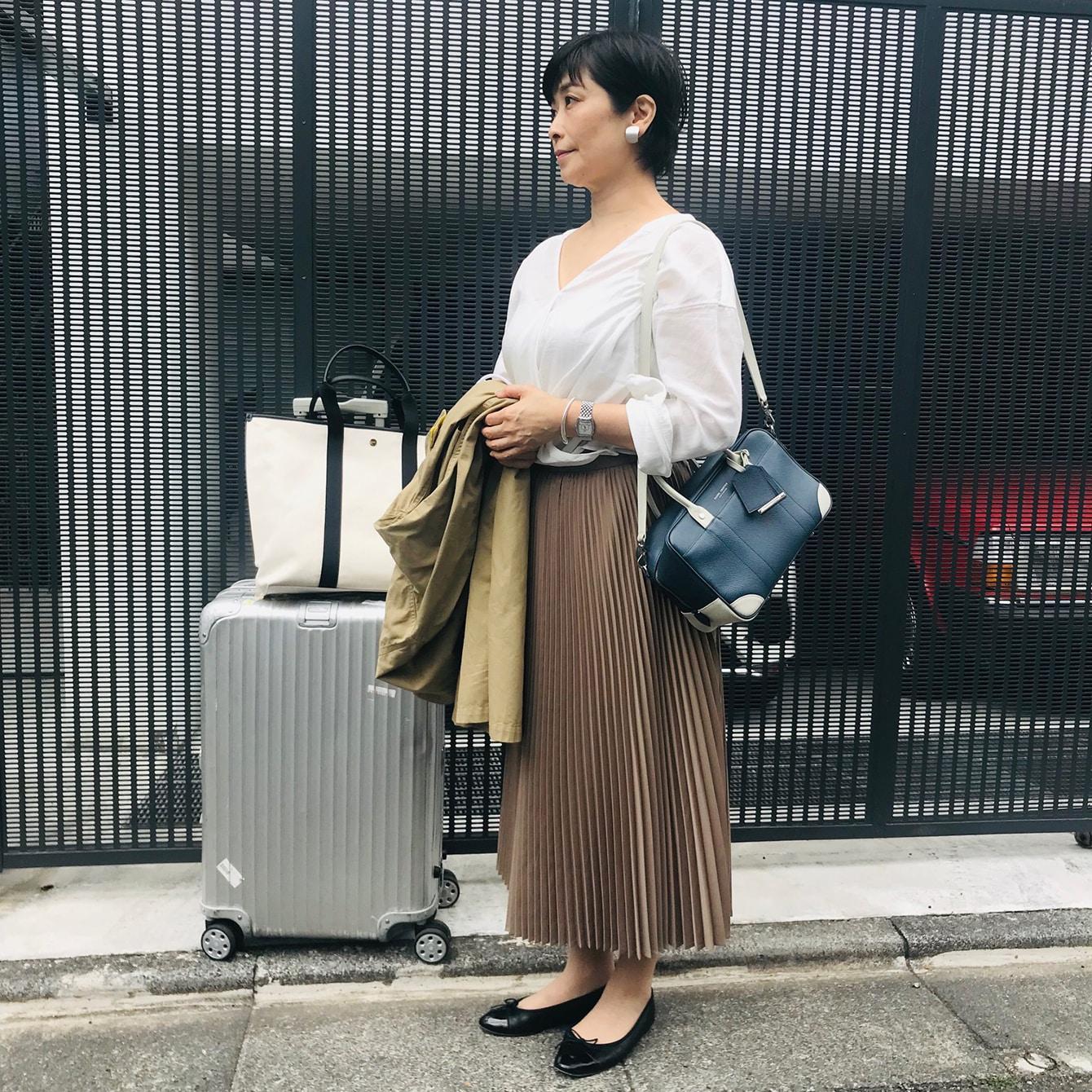見映え&快適! 旅ファッション上達術【『母とヨーロッパへ行く』番外編】