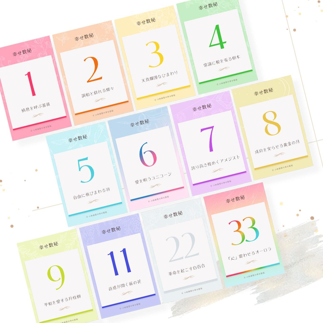 【小林麻耶さんが「数秘」で編集部員を診断】数字からわかる才能と能力