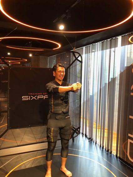 話題の近未来型ジム「SIXPAD STATION」を体験してきました!スライダー2_4