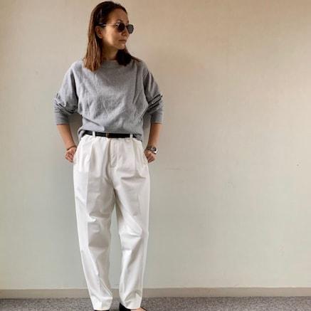 春にはきたい白パンツ、スタイリスト注目のブランドは?