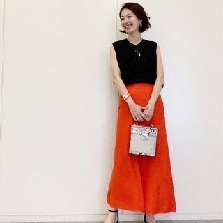 フェミニン代表・林 智子さんがセレクト!大人目線の「Tシャツスタイル」