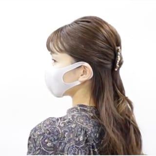 【マスクの日のヘアアレンジ】横顔美人な「大人ハーフアップ」の作り方