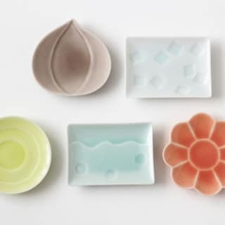 かわいい豆皿。by郡山雅代