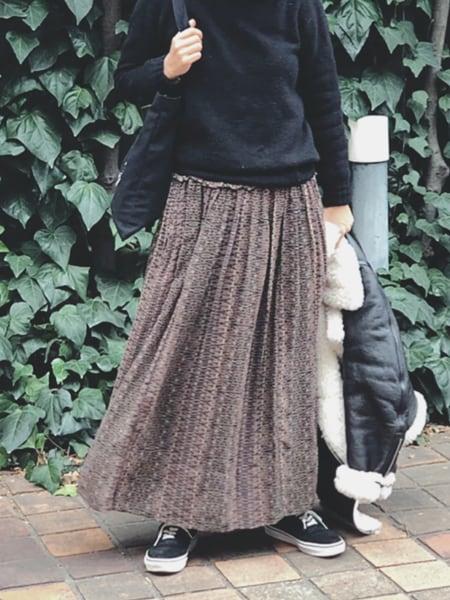 着太りせずにカジュアルをスペシャルに。寒い日こそスカートの力!スライダー1_3