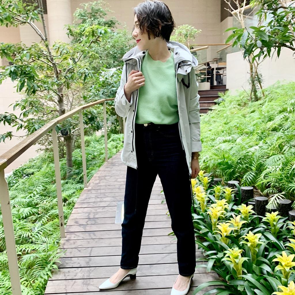 この春注目のグリーンニットにトライ!【カジュアルモード代表・ライター出原杏子さん】