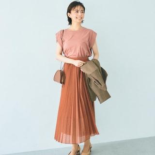 小林麻耶さんも感激。秋の旬「ブラウン」であか抜けるワントーン術
