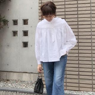 【動画あり】ファッションライター榎本洋子がセレクト!「SCYE BASICS」のリネンブラウスが欲しい!