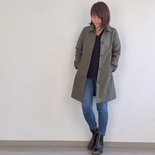 雨の日も晴れの日もこのコートがあれば!by望月律子