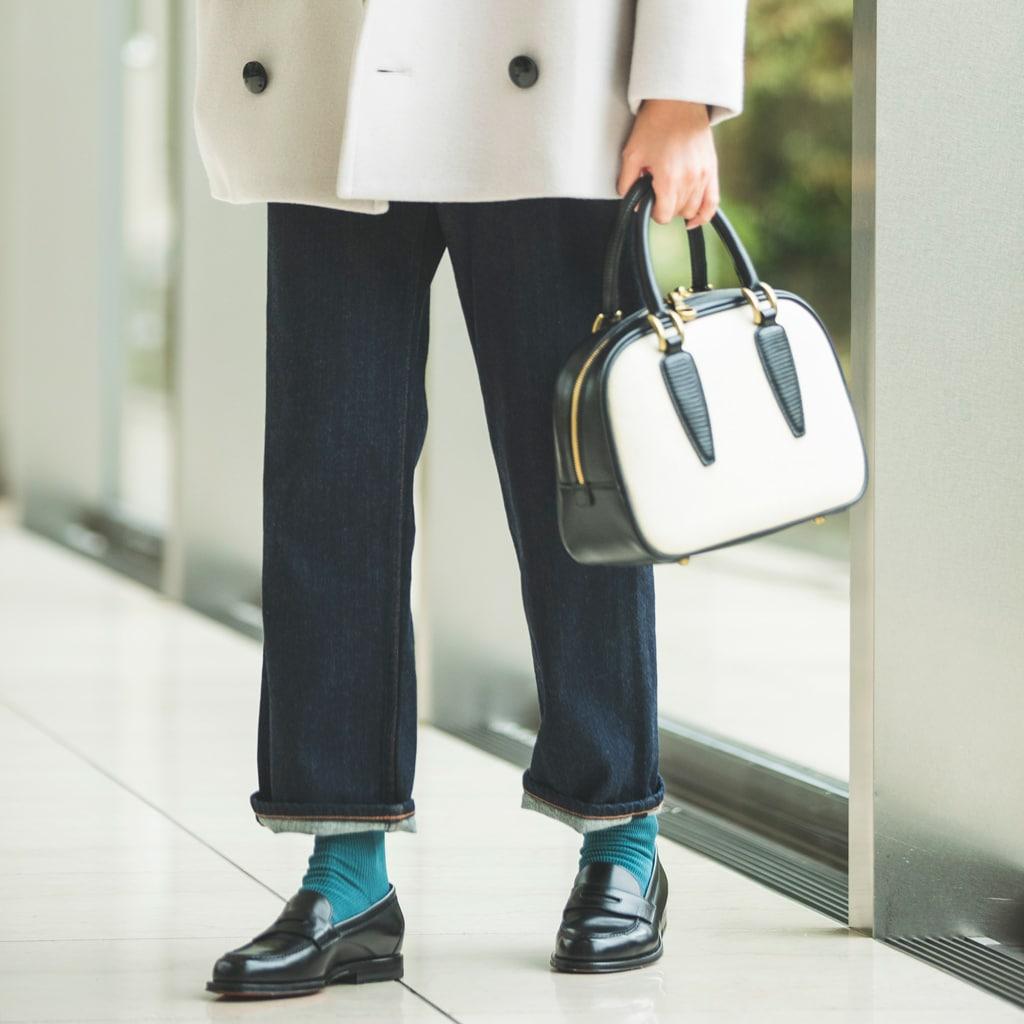 靴とボトムの「隙間」問題。おしゃれに決まるコツとは?【冬の足元】