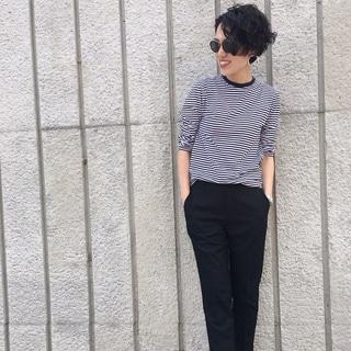 黒パンツを「ユニクロ」で新調しました!