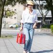 女性らしさを忘れない、週末のお出かけファッション② from名古屋