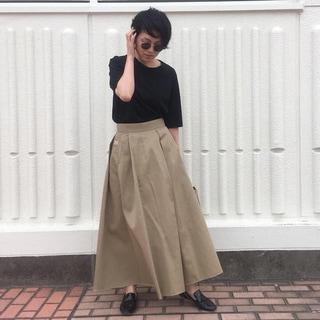 シンプル派のTシャツはエイトンで by昼田祥子