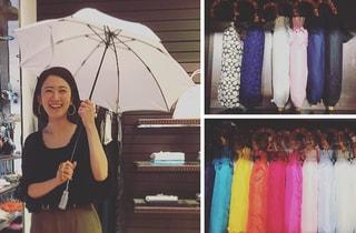 雨の日も晴れの日も、ワカオの傘と一緒に by室井由美子