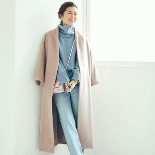 重くなりがちな冬の着こなしは「色✕色」でマンネリ打破!