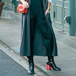 【40代コーデ】万能ショートブーツの「スカートスタイル、パンツスタイル」実例集