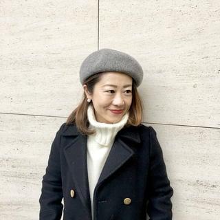 ベレー帽、絶賛愛用中です! by鈴木亜矢子