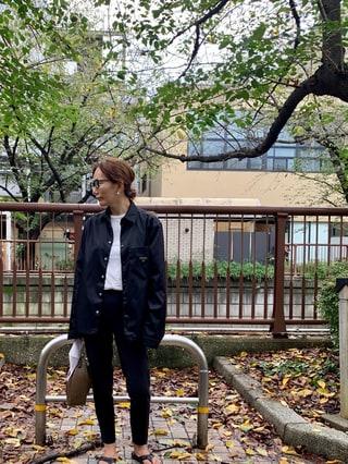 【40代コーデ】大人の洗練カジュアル派スタイリスト斉藤美恵さんの最新ルック