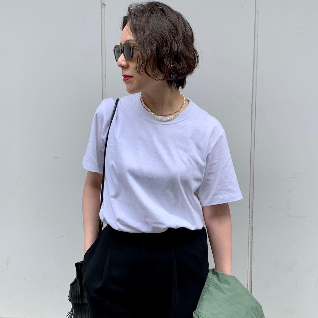 【白Tシャツ】体型カバーを叶える、今年らしい1枚は?