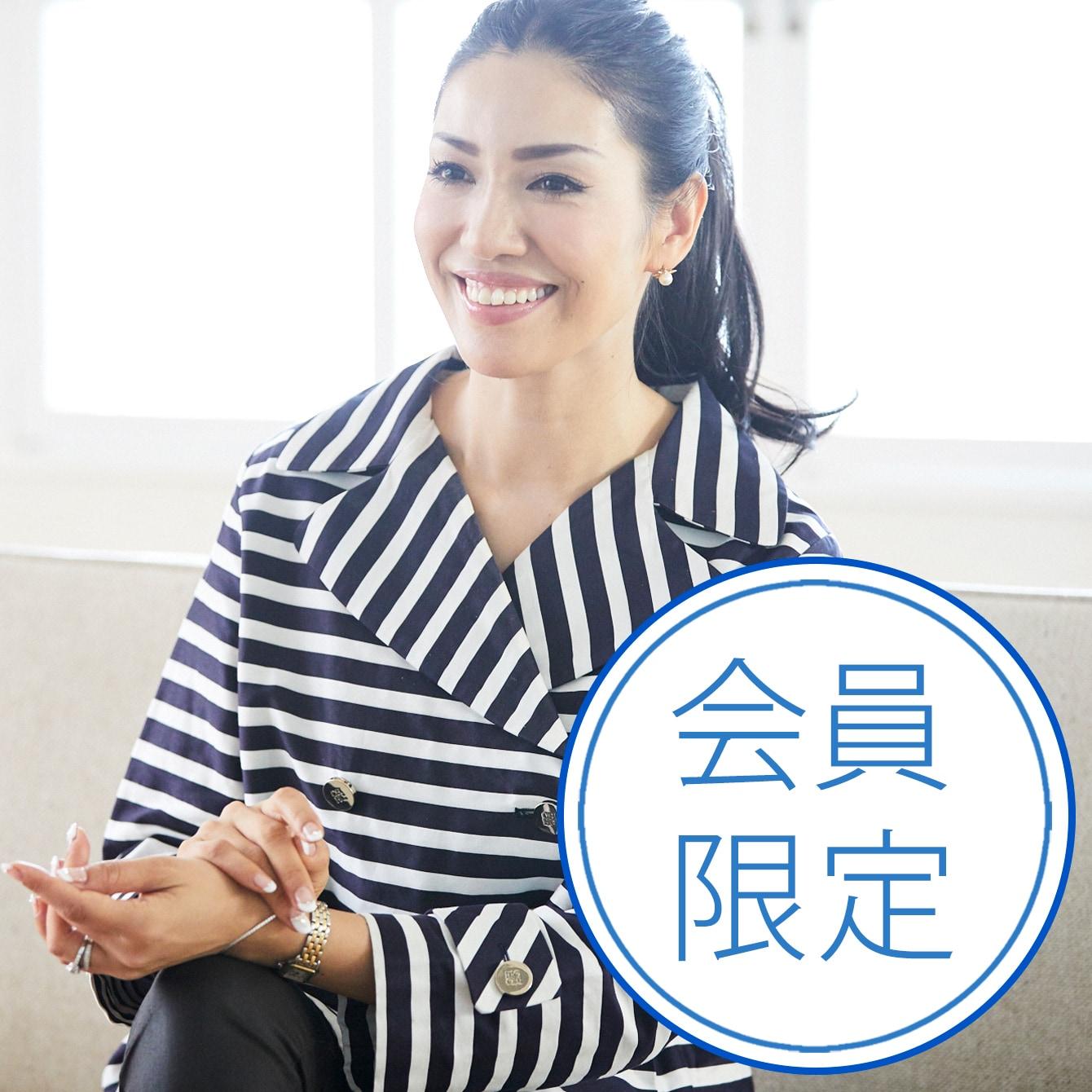 【アンミカさん インタビュー】悩んだときの羅針盤は、ワクワクする気持ち! 前編