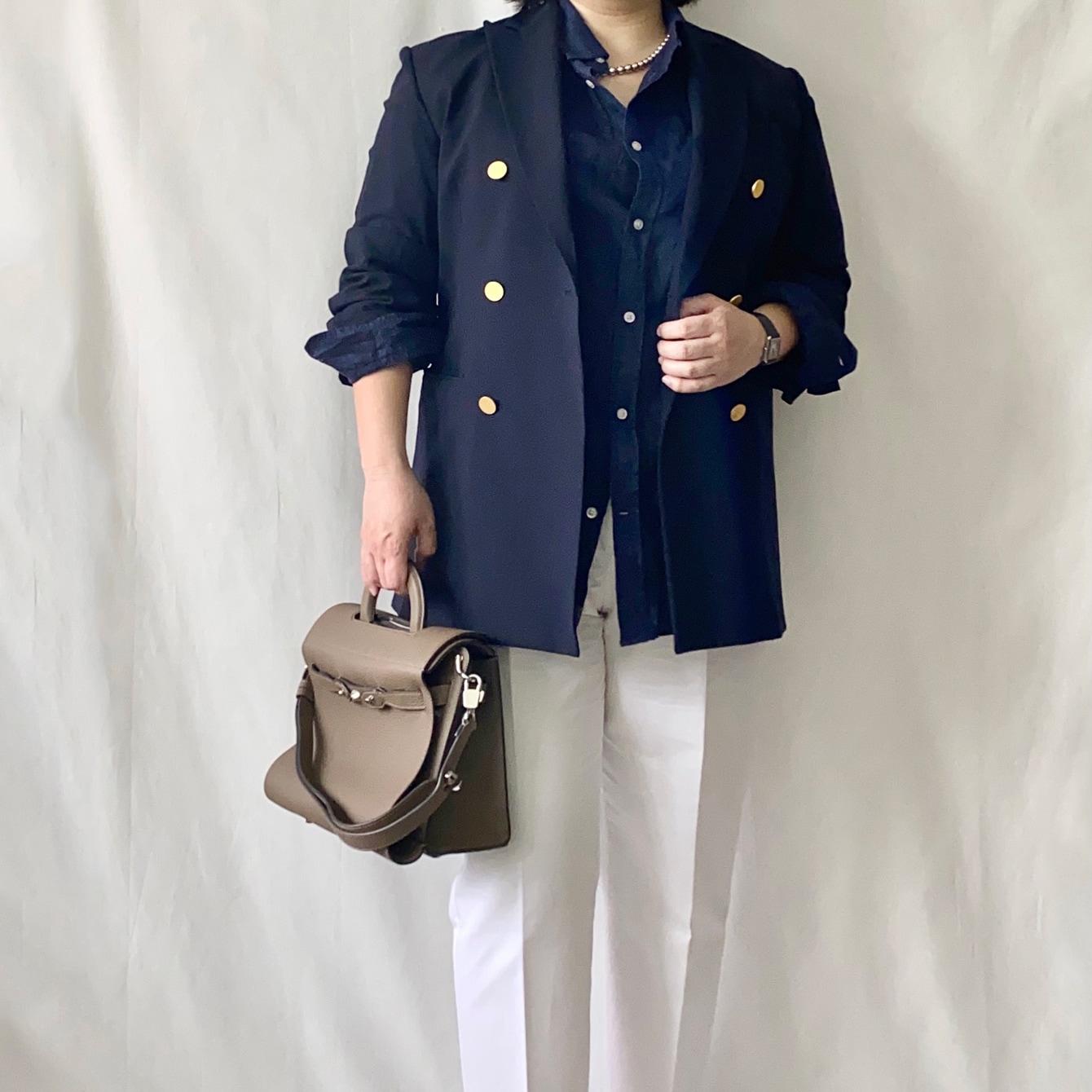 太め体型40代の悩みを解決する「今着たいコンサバきれいな仕事服」