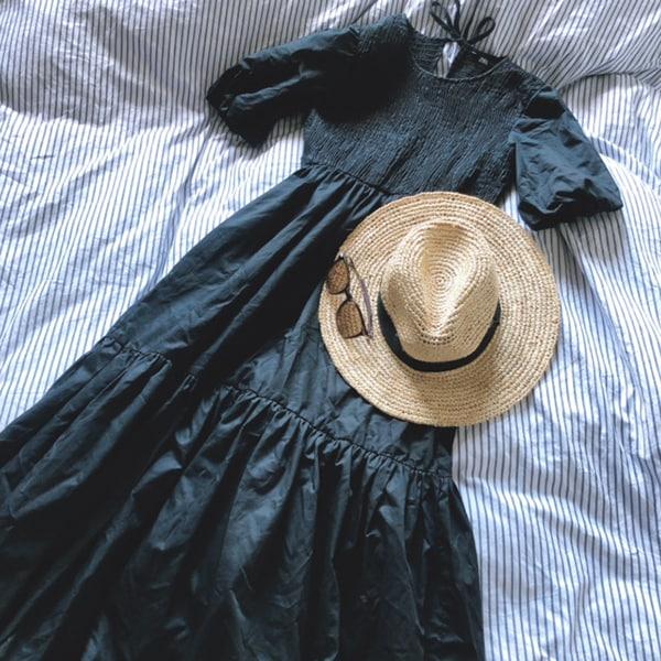 真夏になると黒を着たくなる不思議。今夏買った黒ワンピース4選