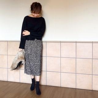 久しぶりにタイトスカートをはいてみたら… by榎本洋子