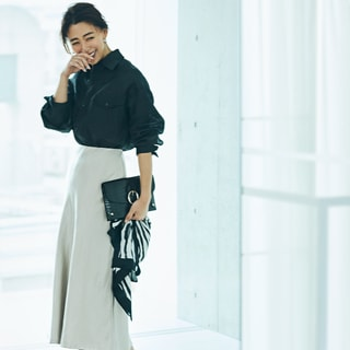 【今買って秋も着られる】女っぽさがUPする人気のサテンスカート