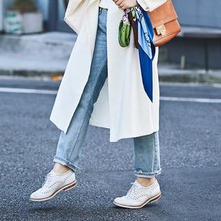 【40代コーデ】おしゃれな人の端正なマニッシュな靴選び21